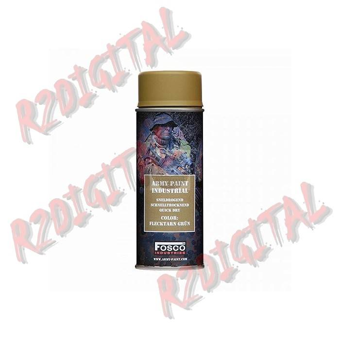 VERNICE ARMI FOSCO SPRAY FLECKTARN GRUN 400ML PISTOLA